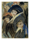 Women on the Street II Prints by Ernst Ludwig Kirchner