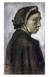 Sien's Mother Wearing a Dark Cap Posters by Vincent van Gogh