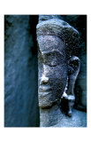 Angkor Wat Face, Cambodia Giclee Print by Charles Glover