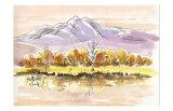 Late Autumn in Plateau Posters by Kenji Fujimura