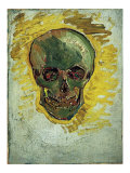 Skull Prints by Vincent van Gogh