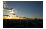 Tokyo Tower: Summer Evening Print by Takashi Kirita