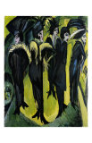 Five Women on the Stage Posters by Ernst Ludwig Kirchner