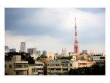 Tokyo Tower: Winter Print by Takashi Kirita