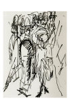 Berlin Street Scene Prints by Ernst Ludwig Kirchner