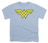 Youth: DC Comics - Wonder Woman Logo - Distressed Shirts
