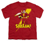 Youth: DC Comics - Shazam! T-shirts