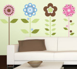 Growing Flowers Wall Decal