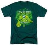 DC Comics - Green Lantern - Flames T-shirts