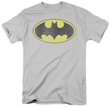 DC Comics - Batman - Retro Logo Distressed T-shirts