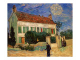 White House at Night Giclee Print by Vincent van Gogh