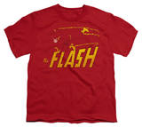 Youth: DC Comics - The Flash - Speed Distressed Shirts