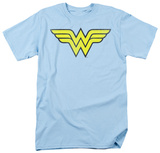 DC Comics - Wonder Woman Logo - Distressed T-Shirt
