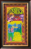 The Who in Concert Art by Bob Masse