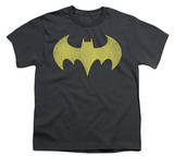 Youth: DC Comics - Batgirl - Logo Distressed T-Shirt