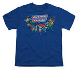Youth: DC Comics - Justice League - Here They Come T-shirts