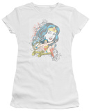 Juniors: DC Comics - Wonder Woman - Scroll T-shirts