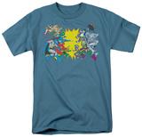DC Comics - Face Off T-shirts