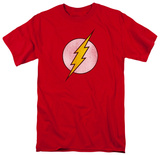 The Flash - Distressed Logo Skjorter