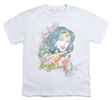 Youth: DC Comics - Wonder Woman - Scroll T-shirts