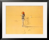 花の頭の女, 1937 高画質プリント : サルバドール・ダリ