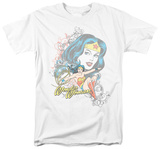 DC Comics - Wonder Woman - Scroll T-shirts
