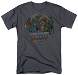 DC Comics - Justice League - Come Join Shirt
