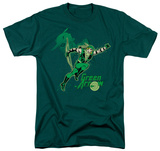 DC Comics - Green Arrow In Action T-shirts