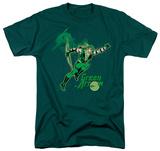 DC Comics - Green Arrow In Action T-Shirt