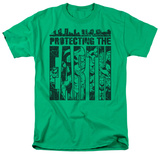 DC Comics - Protecting The Earth T-shirts