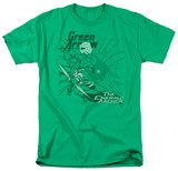 DC Comics - Green Arrow - The Emerald Archer T-shirts