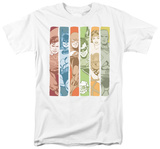 DC Comics - Justice League - Columns T-shirts