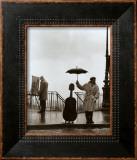 Musician in The Rain Poster by Robert Doisneau