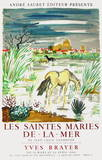 Les Saintes Maries de la mer Collectable Print by Yves Brayer