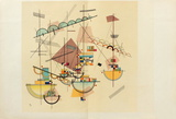 Composition IV Samlertryk af Wassily Kandinsky