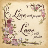 Live with Purpose Prints by Charlene Winter Olson