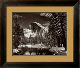 Half Dome, Merced River, Winter Posters by Ansel Adams