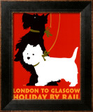 Holiday by Rail Prints by Johanna Kriesel