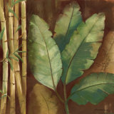 Bamboo & Palms I Prints by Pamela Luer