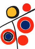Composition IV Collectable Print by Alexander Calder