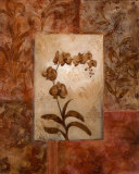 Orchids in Sepia I Art by  Nan