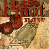 Pinot Noir Kunstdrucke von Maria Donovan
