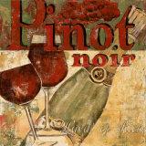 Pinot Noir Prints by Maria Donovan