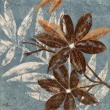 Flowers on Denim IV Posters af Maria Donovan