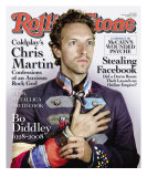 Coldplay&#39;s Chris Martin, Rolling Stone no. 1055, June 2008 Photographic Print by Nadav Kander