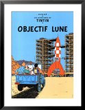 Objectif Lune, c.1953 Print by Herg&#233; (Georges R&#233;mi) 