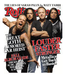 Metallica Gets Back to Basics, Rolling Stone no. 1062, October 2008 Photographic Print by James Dimmock