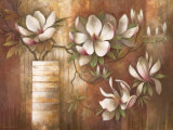 Southern Magnolias Prints by Elaine Vollherbst-Lane
