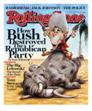 How Bush Destroyed the Republican Party, Rolling Stone no. 1060, September 2008 Photographic Print by Victor Juhasz