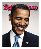 Barack Obama, Rolling Stone no. 1056/1057, July 2008 Photographic Print by Peter Yang